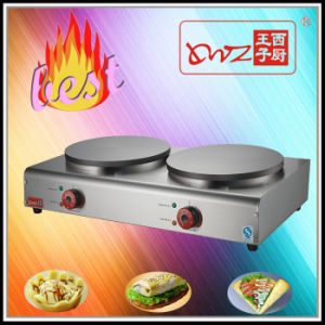 Good Quality Two Plates Electric Crepe Maker for Wholesale pictures & photos