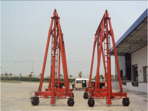 Factory Price 40ton Container Crane (JD40T) pictures & photos