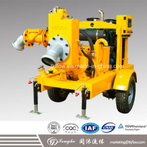 Tongke Flow Movable Self-Priming Diesel Engine Pump pictures & photos