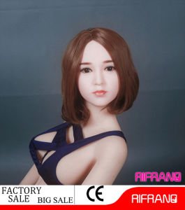 Factory Wholesale 158cm Big Breast Black Eyes Silicone Doll Sex Doll for Man pictures & photos