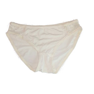 New High Quality Comfortable Breathable Young Girl White Cotton Panties pictures & photos