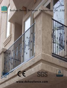Rust-Proof Antiseptic High Quality Balcony Fencing with Powder Coated pictures & photos
