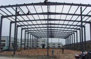 Steel Frame for Storge/ Workshop Light Steel Structure pictures & photos