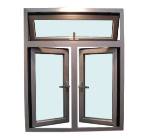 As2047 Certificed Double Glazed Aluminum in-Swinging Casement Window pictures & photos