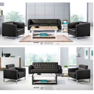 Single Three PU Sofa with Steel Leg pictures & photos