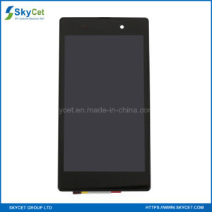 LCD Display Touch Screen with Frame for Sony Z1 L39h pictures & photos