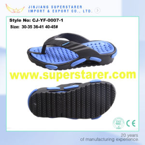 Colorful Beach Walk Flip Flops Slippers, Customized Logo Injection Flip Flops pictures & photos