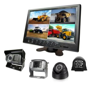 9-Inch Split Quad Car Monitor 12V-24V for Car Reversing Camera Truck Backup pictures & photos