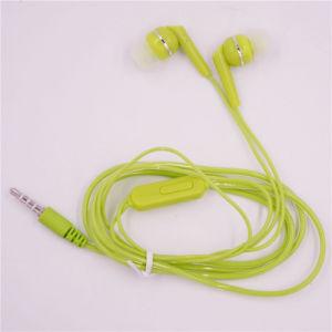 Wired 3.5 mm Univeral Mobile Phone Earphone with Mic Microphone Stereo Headphone Headset Earplug Clip (XSEJ-011) pictures & photos