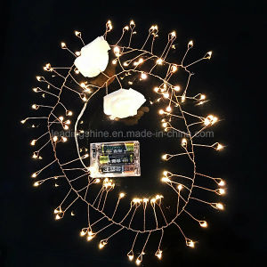 Firecracker Warm White String Fairy Light Wedding Party Xmas Garden Lamp Waterproof pictures & photos