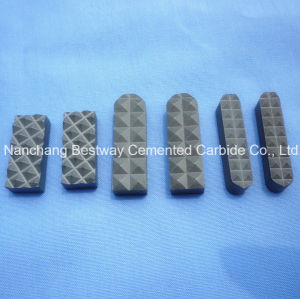 Tungsten Carbide Chuck Jaw Holder Inserts for Mining Machines pictures & photos