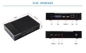 Mini Computer with AMD A6-1450 Quad-Core Processor (JFTC780NK) pictures & photos