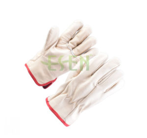 Manufacturers Mechanics Working Leather Glove for Construction in China pictures & photos