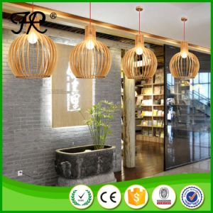 Loft American Style Wooden Cage Pendant Light pictures & photos