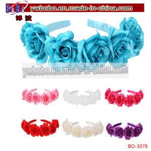Rose Flower Garland Headband Crown Wedding Bride Bridesmaid (BO-3078) pictures & photos