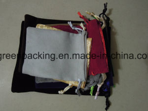 Single Side Flocked Velvet Jewelry Bag/Pouch pictures & photos