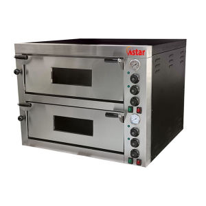2 Decks Electric Commercial Pizza Oven Food Machinery Pizza Baking Oven pictures & photos