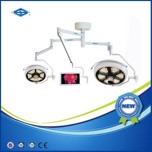 Veterinary Ceiling LED Surgical Operating Light (500/500 LED) pictures & photos