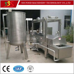 Factory Price Fryer with Oil Filter System Automatic Continuous Fryer with Ce pictures & photos