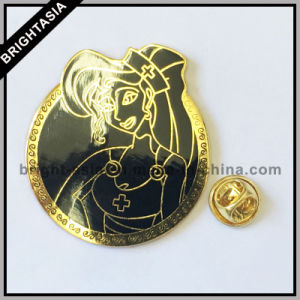 Customized Custom Metal Lapel Pin for Woman (BYH-101166) pictures & photos