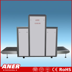 Large Tunnel X Ray Baggage Scanner 100X100cm for Security Check in Customs Airport Court pictures & photos