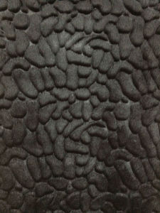 Emboss Plush Fabric