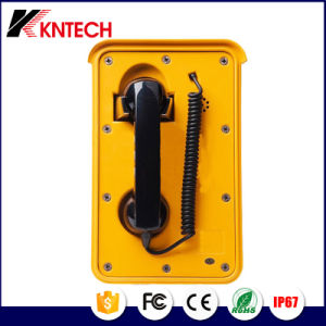 Autodial Telephone Waterproof Handset Knsp-10 Kntech pictures & photos