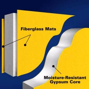 Gypsum Membrane with Glass Fiber Tissue pictures & photos