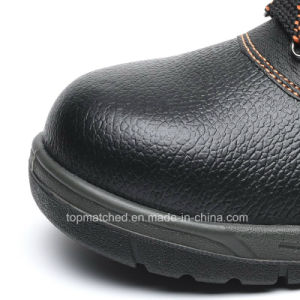 Hot Selling Cheap Genuine Leather Steel Toe Safety Shoes with Ce S3 S1p pictures & photos