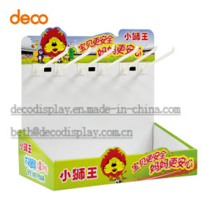 Counter Display Box Paper Retail Display with Hook pictures & photos