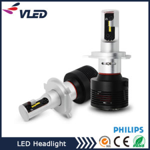 New 12-24V Super Bright A7 Auto LED Headlight 8400lm 60W H4 H7 LED pictures & photos