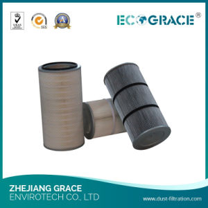 Air Compressor Filtration Water and Oil Repellent Polyester Filtration Cartridge pictures & photos