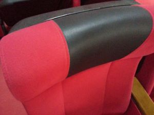 Lowest Factory Price with Black PU Armrest Auditorium Chair Church Chair Auditorium Seat Auditorium Seating Cofference Chair (YA-09A) pictures & photos