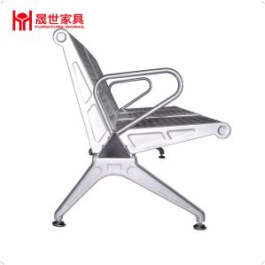 1, 2, 3, 4, 5 Seats Steel Station Airport Metal Waiting Chairs with Good Quality pictures & photos