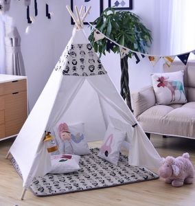 100% Cotton Canvas Fabric Wholesale Indoor Kids Play Teepee pictures & photos