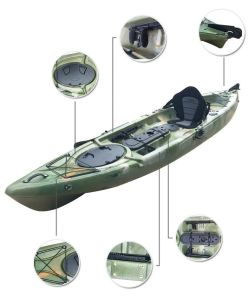 Wholesale Cheap Fish Boat Kayak Fishing Boats Plastic Canoe Kayak pictures & photos