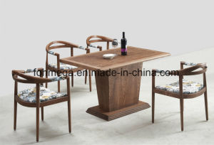 Hotsale Customized Wood Dining Furniture (FOH-17R3) pictures & photos