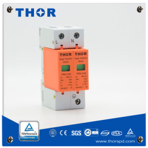 Lightning Arrester 40 Ka AC Power Surge Protector for CE pictures & photos