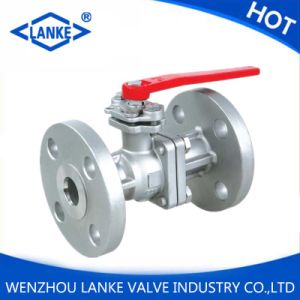 Pn16 Dn50 Flange Stainless Steel CF8 / CF8m Ball Valve pictures & photos