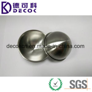 304 Stainless Steel Half Ball with Edge for Bath Bomb Mold pictures & photos