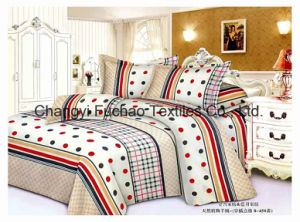 Poly/Cotton Queen Size High Quality Home Textile Bed Sheet pictures & photos