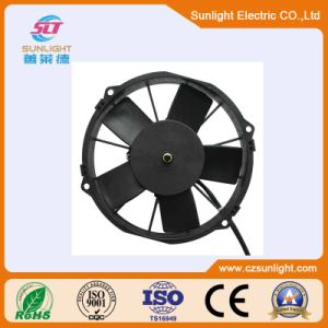 24V Brushless Condenser Fan DC Cooling Blower Fan Radiator Axial Fan pictures & photos