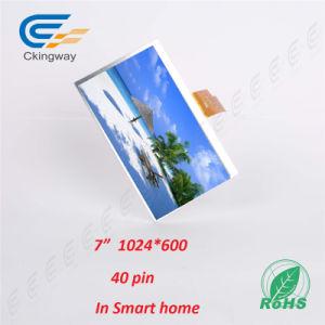 "7"" 1024*600 40 Pin 350CD/M2 TFT Display pictures & photos"