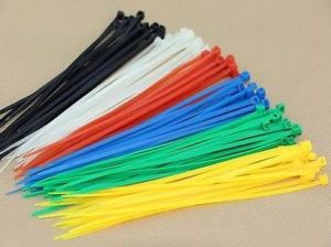 Cable Ties Self-Locking Assorted Nylon Zip Wire Tie-Wrap in Black & White pictures & photos