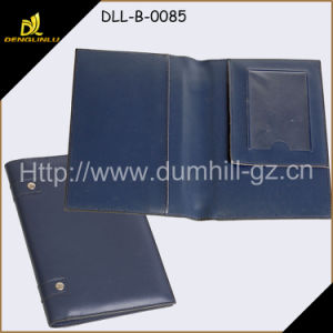 A5 Size Custom Leather Portfolio Business Folder pictures & photos