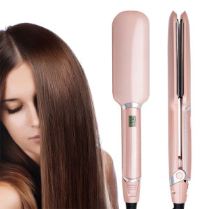 Best Peice Wholesale Ceramic Infrared Brush Hair Straightener Iron pictures & photos