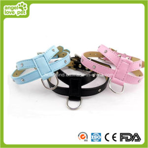 PU Pet Harness Dog Harness Pet Collar and Leash pictures & photos