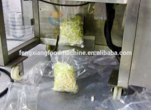 Full Automatic Vegetable Potato Chips French Fries Food Salad Weighing Packing Machine pictures & photos