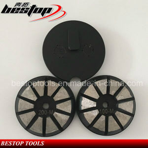 "3"" Metal Bond Concrete Grinding Disc for Floor pictures & photos"