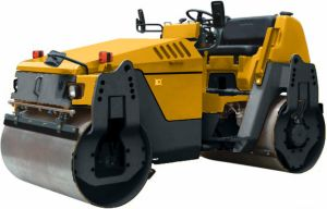 Vibratory Pavement Roller Road Compactor with Double Drums pictures & photos